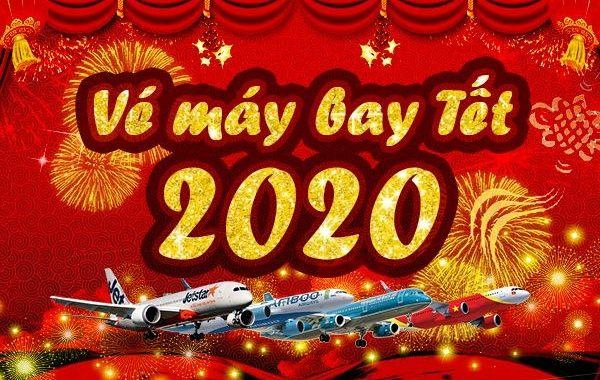 Vé Máy Bay Tết 2020 Giá Rẻ Nhất